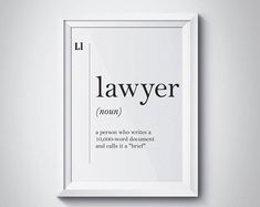 Sacos de pano Makeup Hacks makeup hacks to try Lawyer Humor, Funny Lawyer Quotes, Law School Humor, Law Office Decor, Lawyer Office, Lawyer Gifts, Printable Quotes, Printable Art, Study Motivation