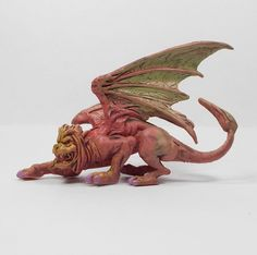 Monster In My Pocket 15 Manticore (1) 2nd Gen RPG D&D Toy Figure