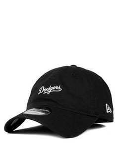 2eb9320d1d2 9Forty Sunbleach Unstructured Dodgers Black