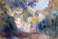 Landscape with Red Roofs - Pierre Auguste Renoir - The Athenaeum