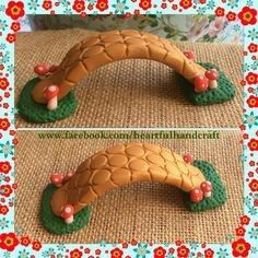 Polymer clay bridge