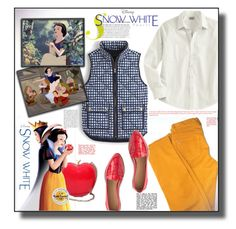 """Disney's Snow White and the Seven Dwarfs"" by rosie305 ❤ liked on Polyvore featuring Loro Piana, L.L.Bean, J.Crew, women's clothing, women's fashion, women, female, woman, misses and juniors"