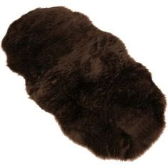 Buy Faux Fur Double Sheep Shape Rug - Brown - 75 x 133cm at Argos.co.uk, visit Argos.co.uk to shop online for Rugs and mats