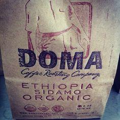 The Coffee    Beans: Ethiopia Sidamo Organic  Roaster: Doma Coffee