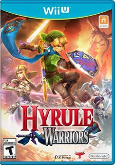 Hyrule Warriors - Nintendo Wii U Battle hordes of enemies as Link, Midna and more! Unleash the power of Link and Zelda like never before. Defend Hyrule and restore balance to the Triforce. The Legend Of Zelda, New Zelda, Link Zelda, Zelda Skyward, Skyward Sword, Nintendo Wii U Games, Wii Games, Games To Play, Nintendo Splatoon