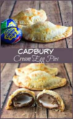 Egg Pies Cadbury Creme Egg Pie - this simple dessert is made by baking a creme egg into a pie, for a flaky and creamy hand pie.Cadbury Creme Egg Pie - this simple dessert is made by baking a creme egg into a pie, for a flaky and creamy hand pie. Easy Easter Desserts, Easter Snacks, Easter Treats, Easter Recipes, Holiday Recipes, Easter Food, Easter Deserts, Easter Dishes, Passover Recipes