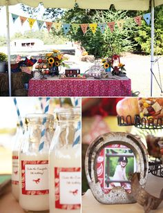 Classic Country Western Cowgirl Birthday Party Themed