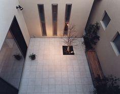 中庭を活かしたデザイナーズ住宅・間取り(兵庫県神戸市)|高級住宅・豪邸 | 注文住宅なら建築設計事務所 フリーダムアーキテクツデザイン