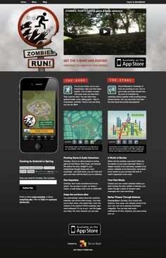 Zombies, Run! Great app to get you into running!