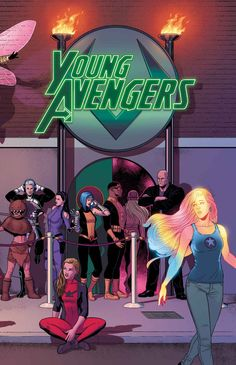 Young Avengers - Jamie McKelvie