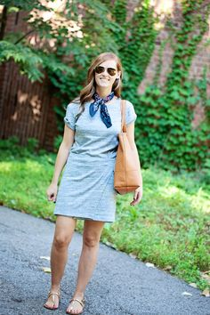jillgg's good life (for less) | a west michigan style blog: my everyday style: grey dress two ways!