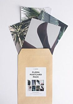 FLORA POSTCARD PACK 2: