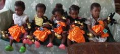 Little princesses in Malawi