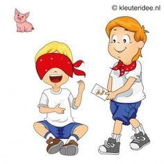 Spel 5: Welk dier is het, speldag thema boerderij voor kleuters, kleuteridee.nl , farm games for preschool field day.