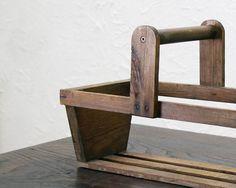 イギリスアンティークウッドバスケットカントリー雅姫9760 インテリア 雑貨 家具 Antique pannier basket ¥8400yen 〆05月09日
