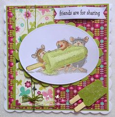 House-Mouse & Friends Monday Challenge: Mid Way Reminder for *All About Summer* Challenge HMFMC174