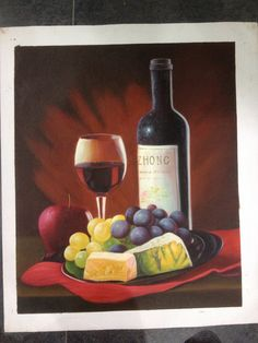 Grapes, Cheese & Wine
