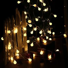 Amazon.com : LUCKLED Fairy Globe String Lights, 100 LED Christmas Lights  With UL