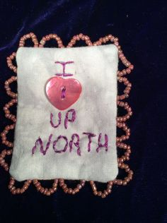Up north  pin brooch by EuthymicThreads on Etsy
