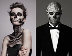 Zombie Boy & Zombie Girl - Couple Ideas For Halloween Costumes