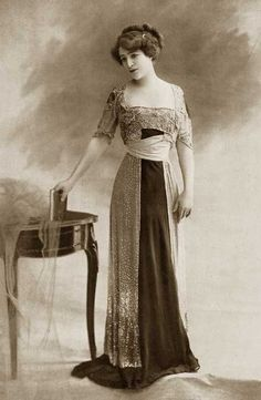 Gowns from the 1910s