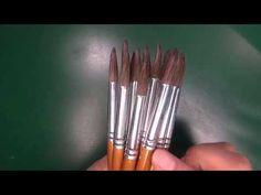 Pinceles para uñas acrílicas - YouTube Lipstick, Tableware, Youtube, Beauty, Hipster Stuff, Beleza, Dinnerware, Dishes