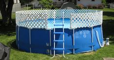 Always one for an engineering challenge here is a system I devised to attach a security fence to the top of the swimming pool.  The main mo...