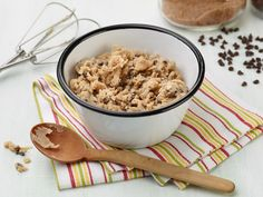 Recipe of the Day: Safe-to-Eat Cookie Dough Everyone knows the best part about baking cookies isn't the baking. Nope, it's sneaking cookie dough from the bowl. Luckily, Food Network Kitchen dreamed up a 100% safe, eggless version of cookie dough, so you can lick the buttery sweetness right off the spatula to your heart's content.