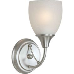 Forte Lighting One Light Wall Sconce