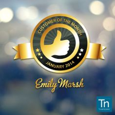 What goes around, comes around. Today we want to give Emily Marsh a little bit of love, just as she has given us :)  In this case, words aren't really enough to describe our feelings. Congrats! <3