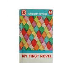 Designfabrix - notebook voor het opschrijven van je eerste roman