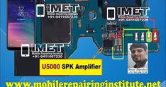 Samsung Galaxy Speaker And Mic Problem Solution Jumper Ways - IMET Mobile Repairing Institute IMET Mobile Repairing Course Octopus Box, Name Writing, Problem And Solution, The 5th Of November, Jumper, Samsung Galaxy, Hardware, Touch, Button