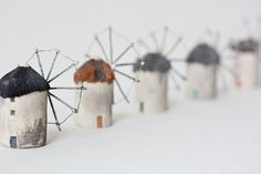cellulose clay windmills from the netherlands