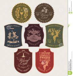 vintage wine labels - Google Search