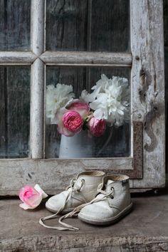 Une fenêtre ancienne - Grange de charme