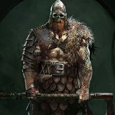 Vikings Raider designs done at Ubisoft for FOR HONOR