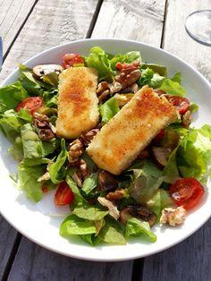 Salade met gebakken brie – Food And Drink Vegan Breakfast Recipes, Vegan Recipes Easy, Brie Au Four, Easy Diner, Tapas, Table D Hote, Superfood Salad, How To Cook Potatoes, Healthy Drinks