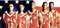 One of the best college basketball teams  I have ever seen.  They would destroy Kentucky this year!  1990-91 UNLV Rebels!!