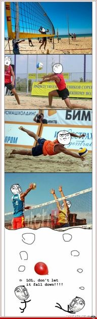 Le volleyball.