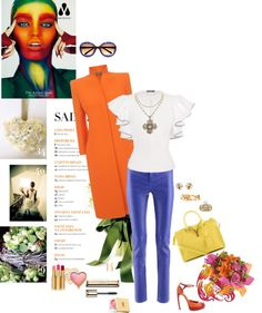 """""""fruits and flowers"""" by aaliyah on Polyvore"""