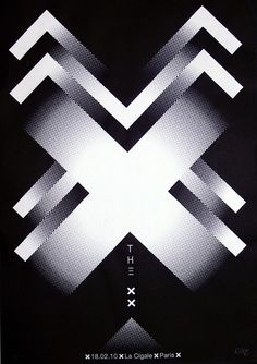 The xx @ La Cigale, Paris, 18/2/10 #WOWmusic