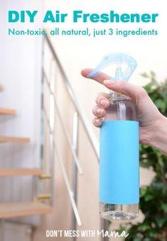 DIY Air Freshener Spray - Don't Mess with Mama
