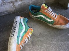 Behind The Scenes By cvshed Real Skate, Custom Sneakers, Sneakers Nike, Urban Aesthetic, Skate Shoes, Sock Shoes, Streetwear Fashion, Street Wear, Mens Fashion
