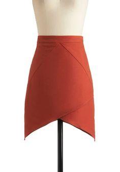 Know All the Angles Skirt, #ModCloth