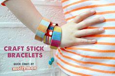 craft stick bracelets