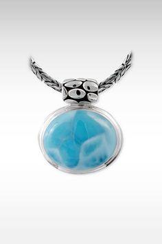 Larimarket - MarahLago Tortuga Collection Larimar Necklace, $432.00 (http://www.larimarket.com/marahlago-tortuga-collection-larimar-necklace/)