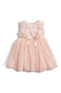 Free shipping and returns on Popatu Floral Appliqué Tulle Dress (Baby Girls) at Nordstrom.com. Floral appliqués and glitter accents adorn the sleeveless knit bodice of a ballerina-inspired dress. A satin bow defines the fit-and-flare silhouette, while layers of flouncy tulle add shape to the twirl-worthy skirt.