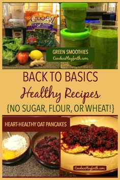 Check out these easy back to basics recipes created with only healthy ingredients! They're perfect for stopping sugar cravings and helping with food addiction recovery thanks to the complete absence of sugar, flour, and wheat. Try these for breakfast or any time you need a sweet treat replacement.