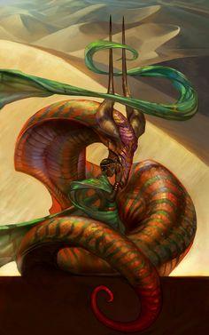 Desert Dragon by juliedillon on deviantART