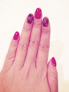 琥珀ネイル Turtoiseshell nails